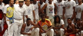 danseurs de capoeira